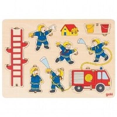 Puzzle à empiler les pompiers