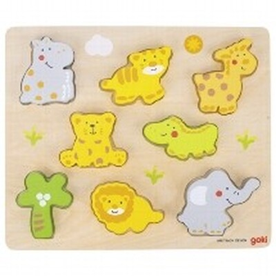 Puzzle animaux sauvages